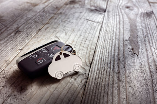 Car keys of person who died