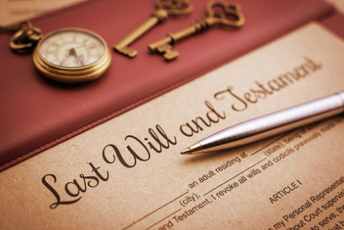 Last Will and Testament Disinheriting a Child