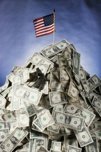 Can Medicaid Take Estate Assets After Probate? Pile of Dollars and US Flag