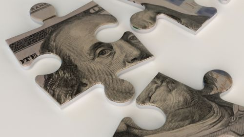 A one hundred dollar bill puzzle